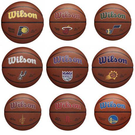Мяч баскетбольный Wilson NBA Team Composite размер 7 композитная кожа