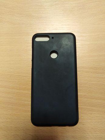 Чехол для смартфона Huawei Honor 7C (чёрный)