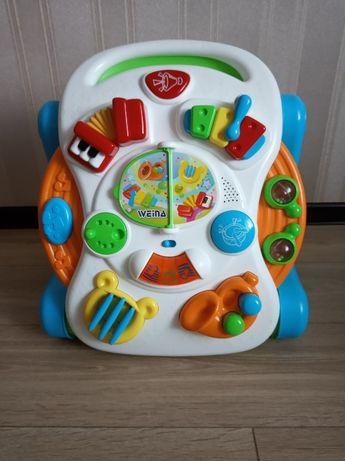 Музыкально игровой столик-ходунки