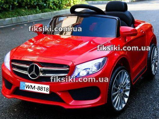Детский электромобиль ММ2772 красный, Дитячий електромобiль