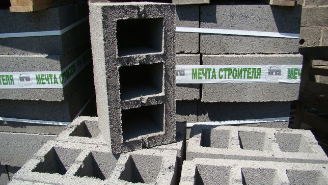 """Шлакоблок Краматорск! ПРОИЗВОДИТЕЛЬ"""" Мечта строителя"""" №1 в РЕГИОНЕ!!!"""