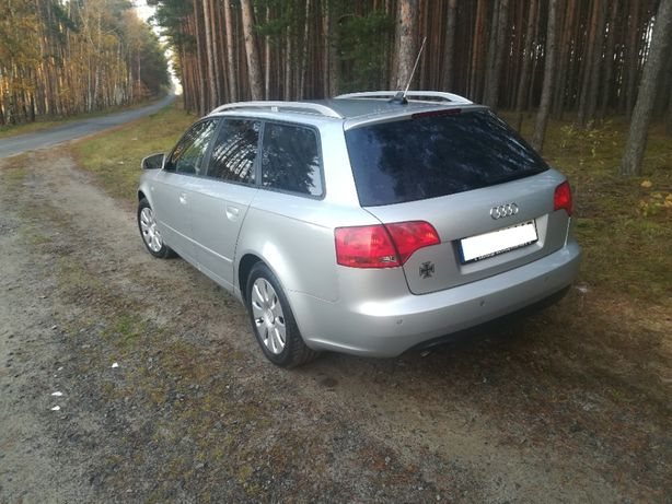 GUBIN Audi A4 B7 2005 rok