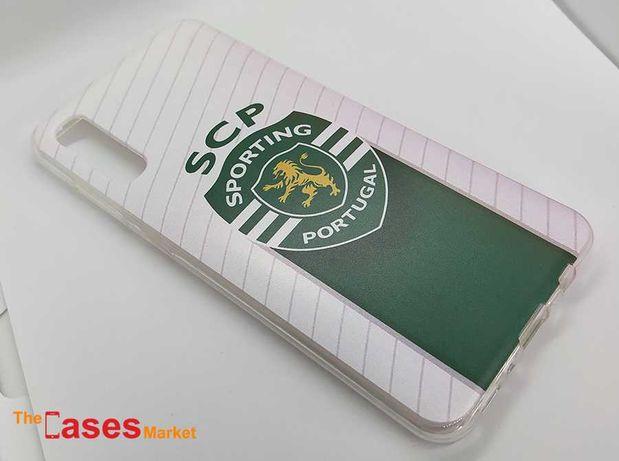 Capa oficial Sporting telemóvel Samsung A70