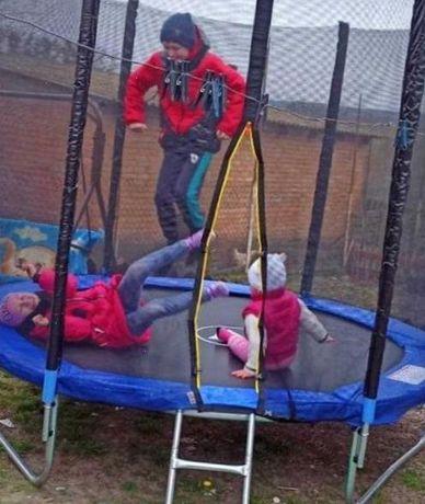 Jumper внутренняя сетка 183 Садовый Батут Батуты Для дітей 80 кг