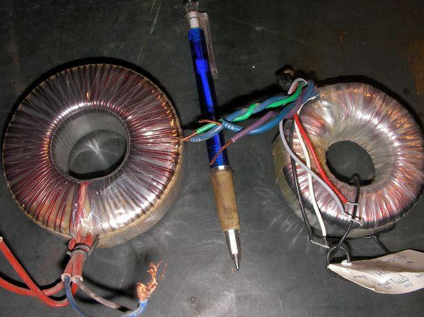Transformador toroidal 50 e 30w