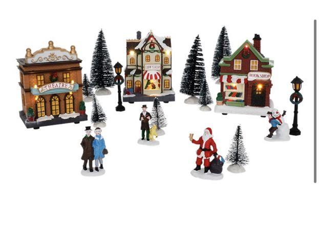 Wioska świąteczna magic Village LED
