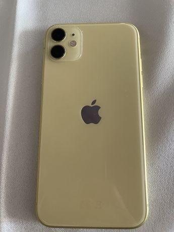 Iphone 11 64gb amarelo c/novo