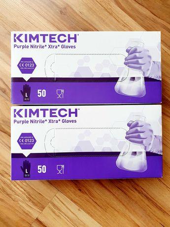 Rękawiczki nitrylowe długie L 50szt