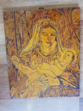 Obraz rękodzieło matka Boża- wyprzedaż