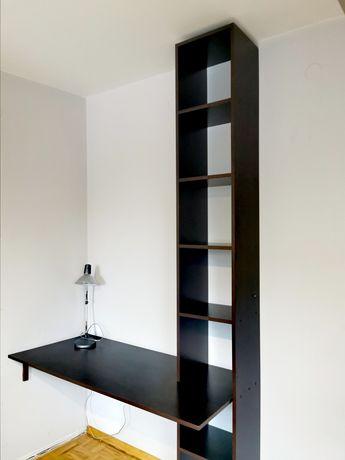 Biurko z półkami pod zabudowę