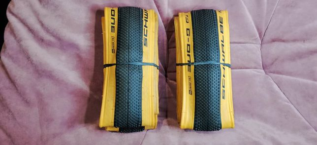 2 Покрышки Schwalbe G-ONE ALLROUND RaceGuard TLE 28 700x38C 40-622