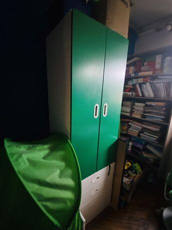 Ikea Komplet Szaf STUVA / FRITIDS biały/zielony