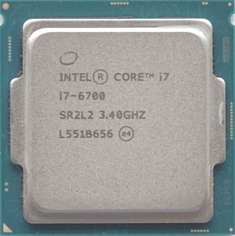Процессор i7 6700 3.4GHz 8Mb Intel Core 1151 SR2L2 | Гарантия 1 Год