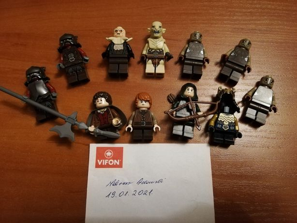 Lego the lord of the rings/władca pierścieni/hobbit