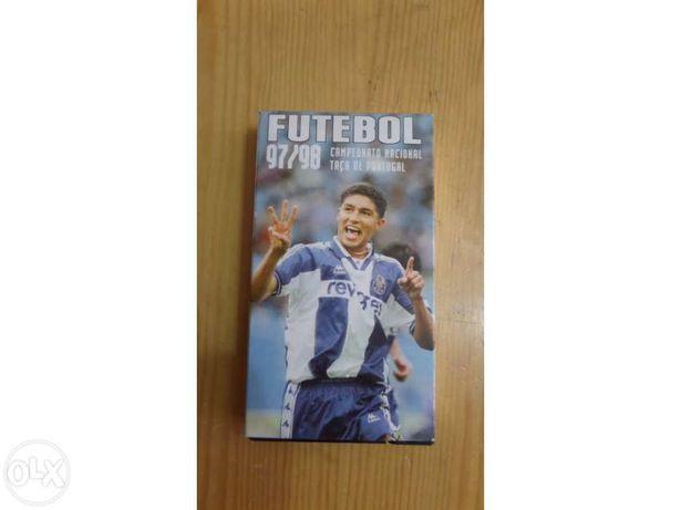 Cassete de VHS (Futebol 97/98)