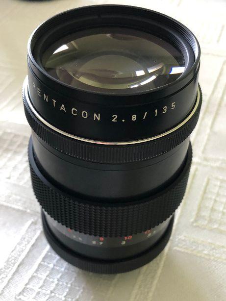Obiektyw Pentacon 2.8/135mm Made in G.D.R, 16 listków przysłony M42
