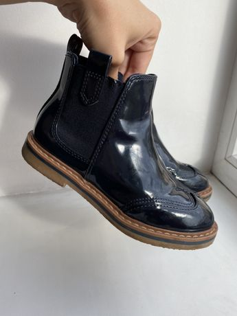 Ботинки демисезонные челси zara
