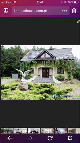 Dom 160 m duża działka las rzeka