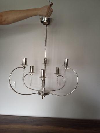 lampa wisząca, żyrandol 6-cio ramienny