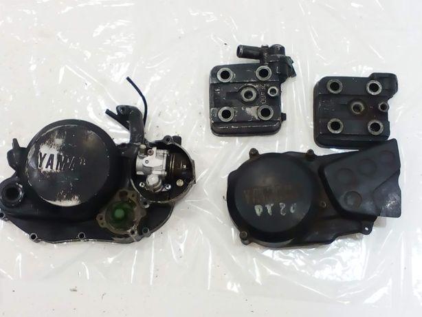 Yamaha dt 80 lc silnik na części głowica , pokrywa silnika osłona
