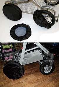 Чехлы на колеса для коляски