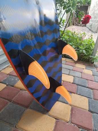 Kitesurf, kiteboard. Кайт серф. Кайтборд Nobile Infinity split carb5.9