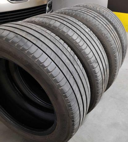 Michelin Primacy3, 205/55 R17; Komplet w pełni sprawnych opon letnich.
