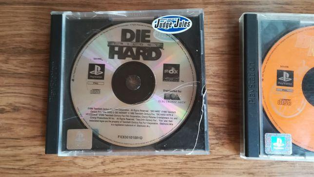 Die Hard Trilogy & Freestyle BMX Psx PlayStation PAL Ang Łódź