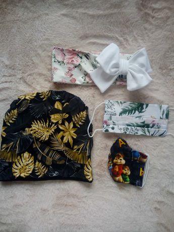 Turbany, chusty i opaski.