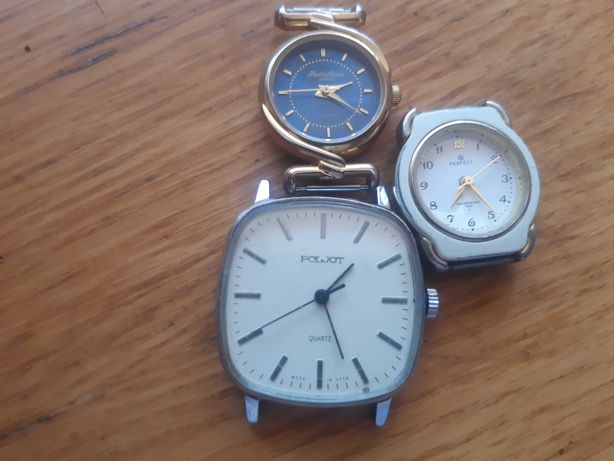 Stare zegarki 3 szt