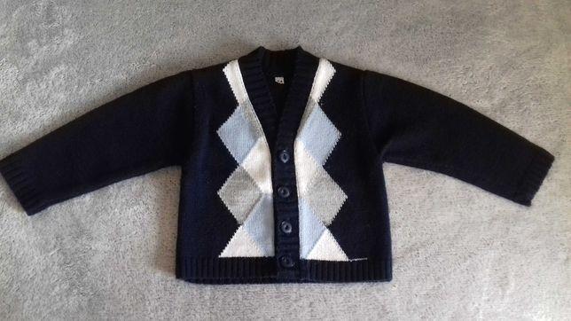 Rozpinany sweterek 74