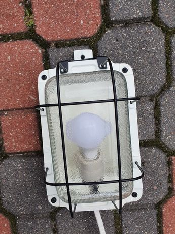 Odrestaurowana lampa Polam Wilkasy