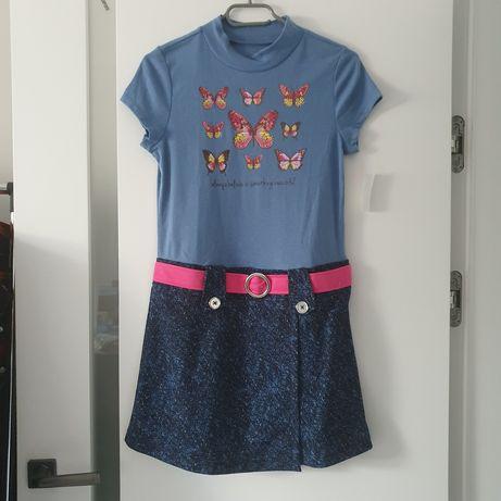 Sukienka, sukienki dziewczęce nowe 13+ oraz 4/6T