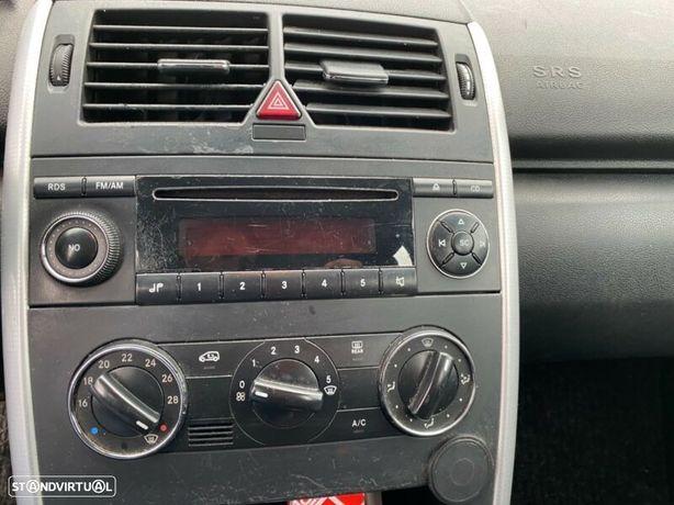 Mercedes Classe A (W169) 200cdi GPS Radio Antena Climatronic interruptor botão Quadrante Display