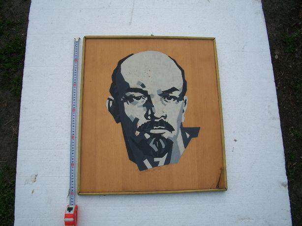 Портрет В.И. Ленина на доске (дсп)