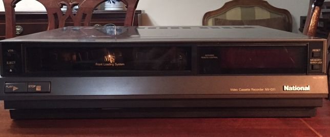 Vídeo Cassete Recorder NV-G11 NATIONAL