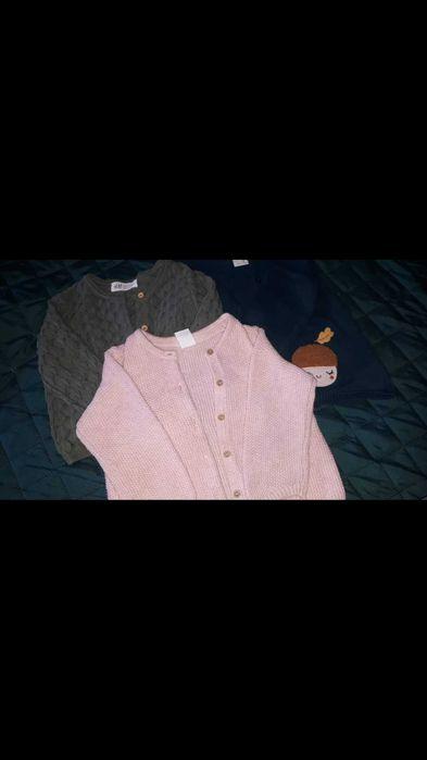 3 Sweterki dla dziewczynki rozmiar 86-92 Lisięcice - image 1