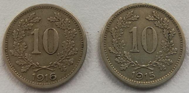 10 Heller Austria 1915 / 1916 10 Halerzy