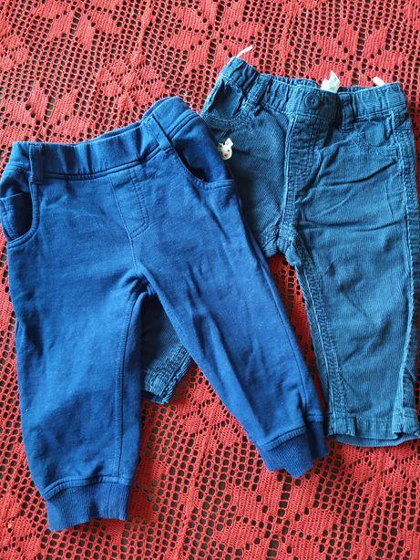 2x spodnie r.74 Coolclub Baby club