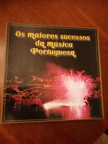 LP - Os maiores sucessos da música portuguesa
