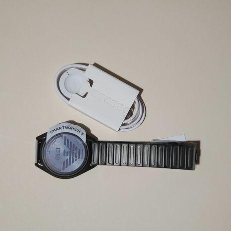 Emporio Armani ART5029 BLACK STEEL 316 L digital quartz смарт часы