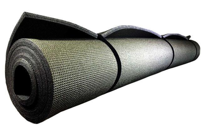 Каремат в палатку 2000х1500х12 мм широкий длинный двухслойный коврик