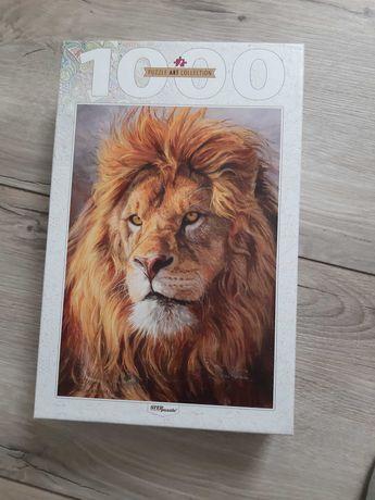 Пазл art collection lion 1000 шт