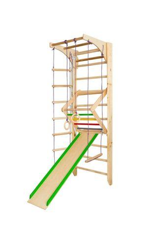 Drabinka drewniana gimnastyczna Kącik sportowy dla dzieci COMBI+ 220 c