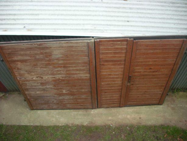 Brama drzwi garażowe dwuskrzydłowe ocieplone (200x300)