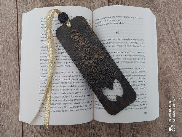 Zakładka do książki baletnica rękodzieło drewniana