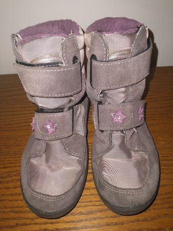 Buty zimowe marki Ricosta dziewczęce rozmiar 32 migające gwiazdki