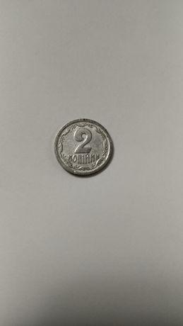 2 копейки 1993 года алюминий