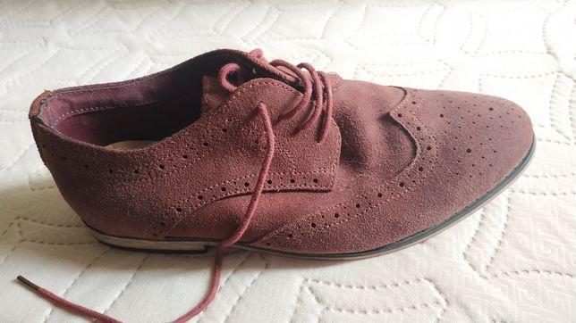Туфли женские новые 38 р.замшевые!