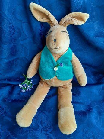 Кролик The Manhattan Toy винтаж Зайчик 50 см плюшевая игрушка